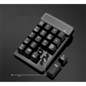 AVATTO Keypad Numeric Wireless dengan Numpad Triple Nol 2.4GHz - 171003 - Black - 6