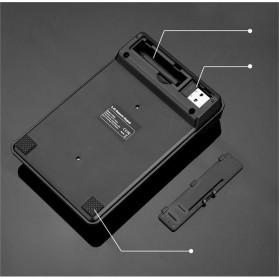 AVATTO Keypad Numeric Wireless dengan Numpad Triple Nol 2.4GHz - 171003 - Black - 8