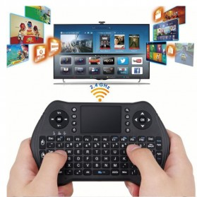 Keyboard Wireless 2.4GHz with Touchpad - MT10 - Black - 5
