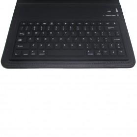 Bluetooth Keyboard with Leather Case for iPad Mini / Mini 2 Retina - Black - 2