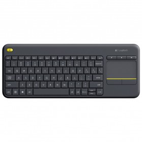 Logitech Wireless Touch Keyboard - K400 Plus - Black