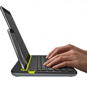 Logitech Bluetooth Multi Device Keyboard - K480 - Black - 2