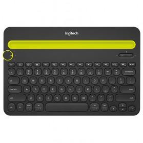 Logitech Bluetooth Multi Device Keyboard - K480 - Black - 4