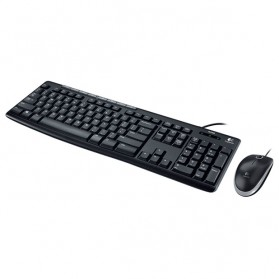 Logitech Media Combo Keyboard and Mouse - MK200 - Black - 3