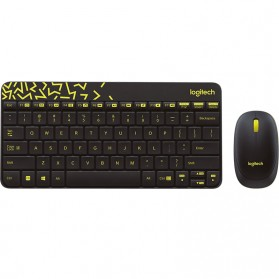 Logitech Keyboard and Mouse Wireless Combo - MK240 Nano - Black