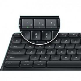 Logitech Keyboard Bluetooth dengan Stand Smartphone - K375S - Black - 3