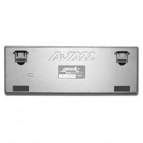 Ajazz Firstblood Mechanical Gaming Keyboard RGB Backlit Blue Switch - AK33 - Black - 8