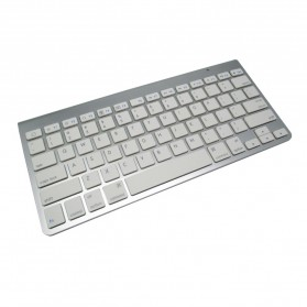 Apple Bluetooth Wireless Keyboard (OEM) - KB88 - Silver