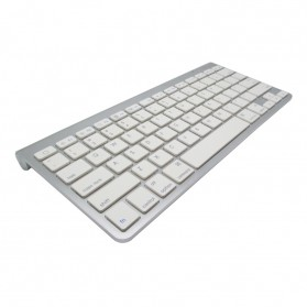 Apple Bluetooth Wireless Keyboard - KB88 (Replika 1:1) - Silver - 2