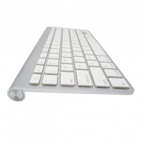 Apple Bluetooth Wireless Keyboard - KB88 (Replika 1:1) - Silver - 3