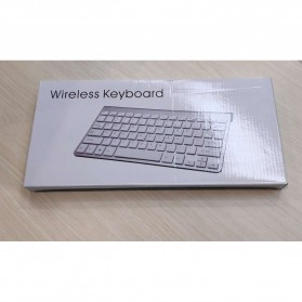 Apple Bluetooth Wireless Keyboard - KB88 (Replika 1:1) - Silver - 4