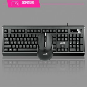 LDKAI GT900 Gaming Keyboard Combo with Mouse - Black - 2