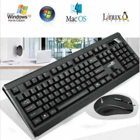 LDKAI GT900 Gaming Keyboard Combo with Mouse - Black - 5
