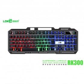 LDKAI Gaming Keyboard RGB LED - RK300 - Black