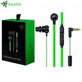 Razer Hammerhead Pro V2 Earphone with Microphone - Black/Green