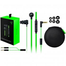 Razer Hammerhead Pro V2 Earphone with Microphone - Black/Green - 2