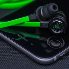 Razer Hammerhead Pro V2 Earphone with Microphone - Black/Green - 3