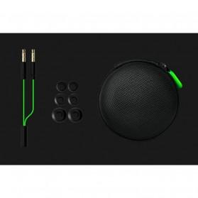 Razer Hammerhead Pro V2 Earphone with Microphone - Black/Green - 4