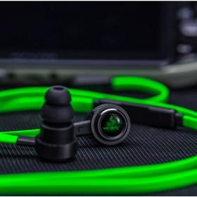Razer Hammerhead Pro V2 Earphone with Microphone - Black/Green - 9
