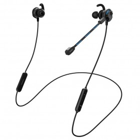 Somic G618 Pro Bluetooth Gaming Earphone HiFi dengan Detachable Mic - Black