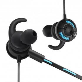 Somic G618 Pro Bluetooth Gaming Earphone HiFi dengan Detachable Mic - Black - 3