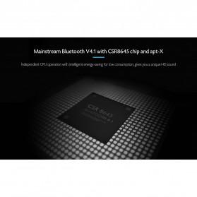 Somic G618 Pro Bluetooth Gaming Earphone HiFi dengan Detachable Mic - Black - 5