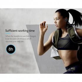Somic G618 Pro Bluetooth Gaming Earphone HiFi dengan Detachable Mic - Black - 8