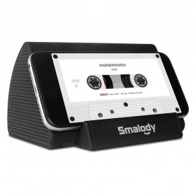 Smalody Wireless Portable Speaker Induksi Amplifier with Smartphone Stand - SL-30 - Black - 2