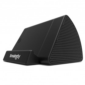 Smalody Wireless Portable Speaker Induksi Amplifier with Smartphone Stand - SL-30 - Black - 4