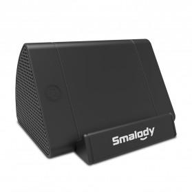 Smalody Wireless Portable Speaker Induksi Amplifier with Smartphone Stand - SL-30 - Black - 6