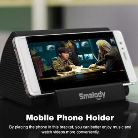 Smalody Wireless Portable Speaker Induksi Amplifier with Smartphone Stand - SL-30 - Black - 9