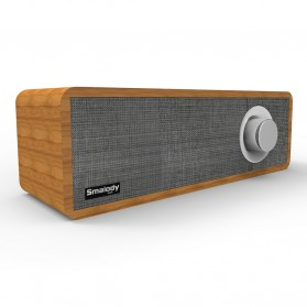 Smalody Wooden Bluetooth Speaker Stereo Soundbar - SL-50 - Gray