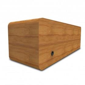 Smalody Wooden Bluetooth Speaker Stereo Soundbar - SL-50 - Gray - 6