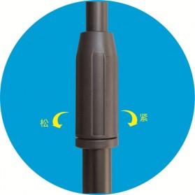 TaffSTUDIO Microphone Standing Holder Tripod with 3 x Smartphone Holder - NB-04P - Black - 6