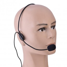 Headset Style Call Center Omnidirectional 52dB - MF03 - Black