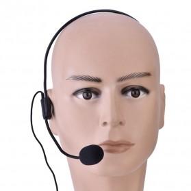 Verhux Headset Style Call Center Omnidirectional 52dB - MF03 - Black - 2