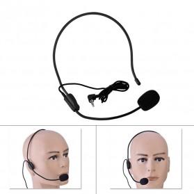 Verhux Headset Style Call Center Omnidirectional 52dB - MF03 - Black - 3