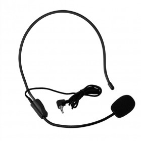 Verhux Microphone Style Call Center Omnidirectional 52dB - MF03 - Black - 4