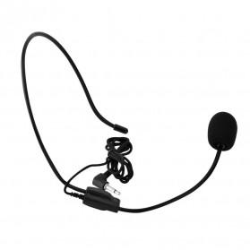 Verhux Headset Style Call Center Omnidirectional 52dB - MF03 - Black - 5