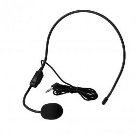Verhux Headset Style Call Center Omnidirectional 52dB - MF03 - Black - 6