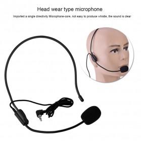 Verhux Headset Style Call Center Omnidirectional 52dB - MF03 - Black - 7