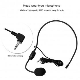 Verhux Headset Style Call Center Omnidirectional 52dB - MF03 - Black - 8