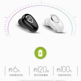 Earphone Bluetooth 4.1 Ultra Mini - YX01 - Black - 3