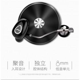 Earphone Bluetooth 4.1 Ultra Mini - YX01 - Black - 4