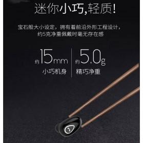 Earphone Bluetooth 4.1 Ultra Mini - YX01 - Black - 7