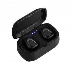TWS Sport True Wireless Bluetooth Earphone Headset with Charging Case - A7 - Black - 3