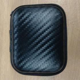 Kotak Penyimpanan Earphone EVA Case - C6964 - Black - 2