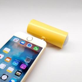 Centechia Mini Portable Stereo Speaker 3.5mm for Smartphone - DN00828-01 - Black - 2