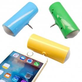 Centechia Mini Portable Stereo Speaker 3.5mm for Smartphone - DN00828-01 - Black - 3