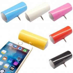 Centechia Mini Portable Stereo Speaker 3.5mm for Smartphone - DN00828-01 - Black - 6